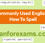English spelling and grammar questions for practice - Set 2